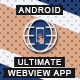 Ultimate Webview App - Android [ AdMob & Push Notifications ] - CodeCanyon Item for Sale