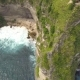 Small Wooden House on the Cliff with Amazing View on Atuh Beach in Nusa Penida, Indonesia. . - VideoHive Item for Sale