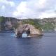 Amazing Rock Arch Island in the Sea. Nusa Penida, Indonesia. . - VideoHive Item for Sale