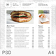 Rustic Minimalist Menu - GraphicRiver Item for Sale