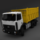 MAZ 5516 dump truck - 3DOcean Item for Sale