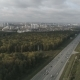 Highway Leading To a Modern City - VideoHive Item for Sale