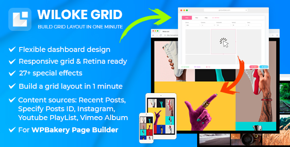 Wiloke Grid - For WPBakery Page Builder (Visual Composer) - CodeCanyon Item for Sale