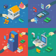 ATM Isometric Compositions With Hands