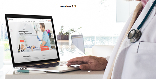 Image of Medical - Health Drupal 8.5 Theme
