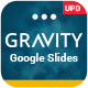 Gravity Google slides Presentation Template - GraphicRiver Item for Sale