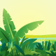Jungle Plants Landscape Background - GraphicRiver Item for Sale