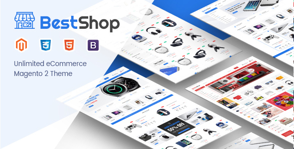 Image of BestShop - Responsive Digital Magento 2 Store Theme