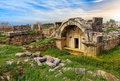 Ruins of ancient city, Hierapolis near Pamukkale, Turkey - PhotoDune Item for Sale