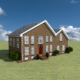 Brick House Build Concept - VideoHive Item for Sale