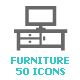 Furniture Mini Icon - GraphicRiver Item for Sale