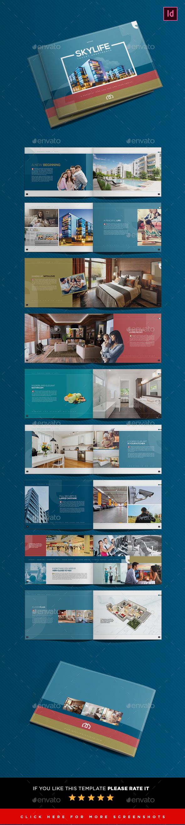 Real Estate Brochure Template - Brochures Print Templates