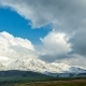.Movement of Thunderclouds Over the Mountains - VideoHive Item for Sale