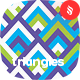Colored Triangles Seamless Patterns / Backgrounds - GraphicRiver Item for Sale