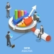 Data Analysis Flat Isometric Vector Concept. - GraphicRiver Item for Sale