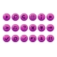 Glossy Pink Buttons for All Kinds of Casual - GraphicRiver Item for Sale
