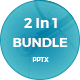 Bundle 2 In 1 Powerpoint Presentation Template - GraphicRiver Item for Sale