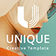 Unique Creative Powerpoint Template - GraphicRiver Item for Sale