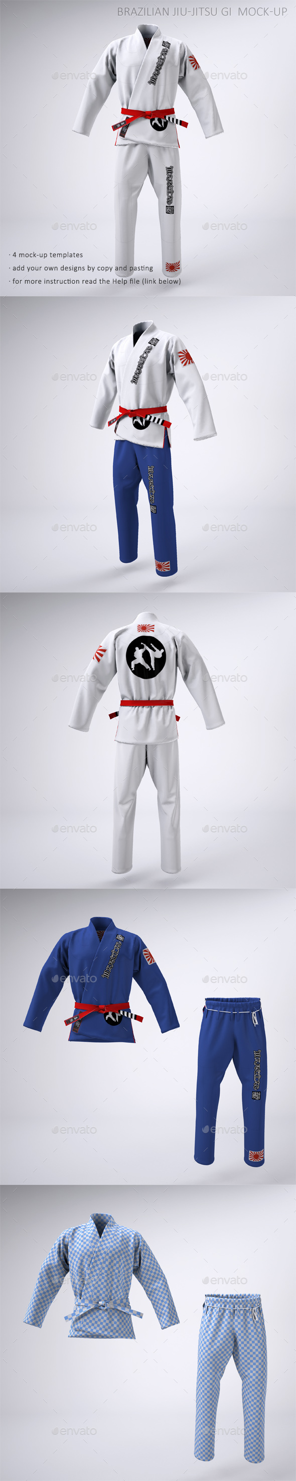Bjj Gi Graphics Designs Template From Graphicriver
