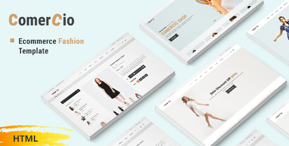 Image of Comercio - Fashion Shop Ecommerce HTML Template