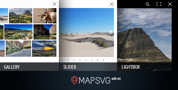 MapSVG.Gallery: gallery / slider / lightbox - add-on for MapSVG WordPress mapping plugin            Nulled