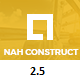 Nah Multipurpose Construction Drupal 8.5 - ThemeForest Item for Sale