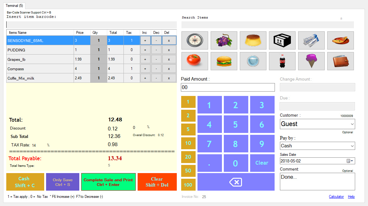 Advance Point of Sale System (POS) - 2