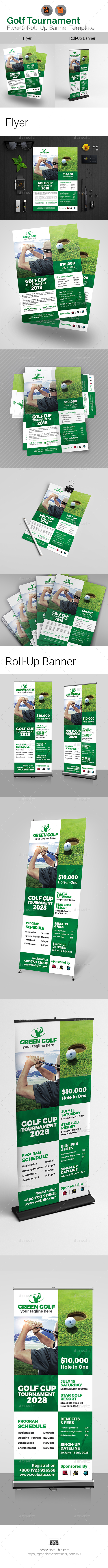 golf graphics designs templates from graphicriver