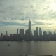 Across the Hudson River To the Financial District in Lower Manhattan From New Jersey - VideoHive Item for Sale
