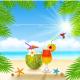 Fresh Summer Drink - GraphicRiver Item for Sale