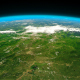 4K Green Earth Close Up Horizon - VideoHive Item for Sale