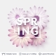 Spring Season Flowers and Text. - GraphicRiver Item for Sale