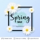 Spring Season Flowers and Sale Text. - GraphicRiver Item for Sale