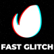 Fast Glitch Logo - VideoHive Item for Sale
