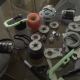 Longboard Parts - Motor Wheel and Gears for Assembling, Carbon Board, Extreme Technology - VideoHive Item for Sale