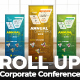 Corporate Conference Roll Up Banner - GraphicRiver Item for Sale