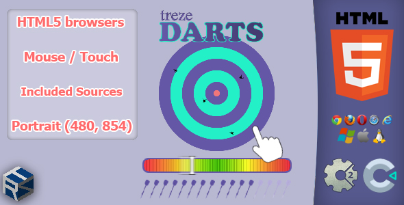 trezeDarts - HTML5 Skill Game            Nulled