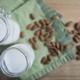 Two jars of almond milk - PhotoDune Item for Sale