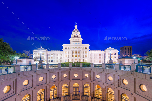 Texas State Capitol Building - Stock Photo - Images