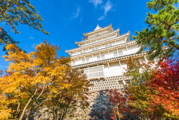 Shimabara Castle, Japan - Stock Photo - Images