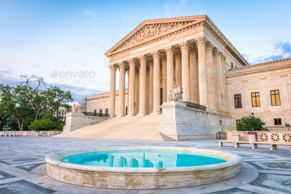 United States Supreme Court Building - Stock Photo - Images