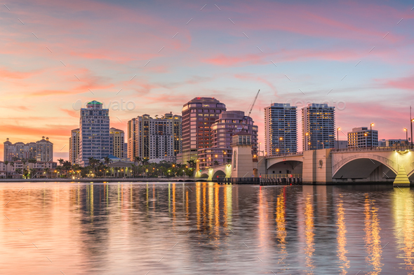West Palm Beach, Florida, USA - Stock Photo - Images