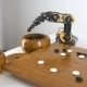 Robot Arm Plays with Chinese Go Game - VideoHive Item for Sale