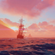 An Ancient Ship In The Ocean - VideoHive Item for Sale
