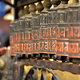 Buddhist prayer wheels in Swayambhunath, Nepal - PhotoDune Item for Sale