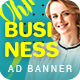 Business | HTML5 Google Banner Ad 20