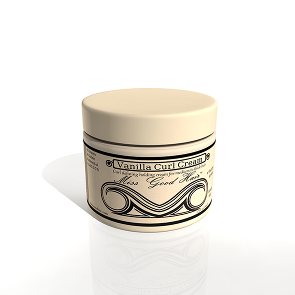 Vanilla Curl Cream - 3DOcean Item for Sale