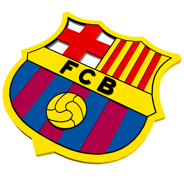 FC Barcelona Logo by Polygon3d | 3DOcean