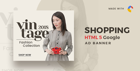 Online Shopping AD Banner 30 - CodeCanyon Item for Sale