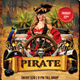 Pirate Flyer - GraphicRiver Item for Sale